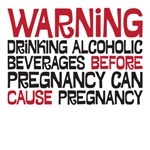 Drinking alcohol before pregnancy can cause pregna