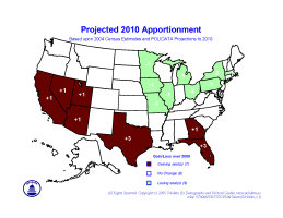 Apportionment & Redistricting