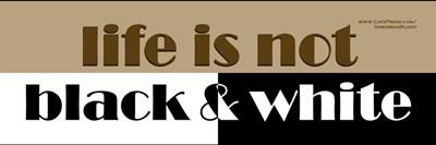 Life Not Black & White