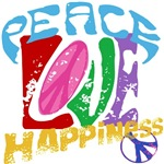 Peace Love and Happiness #P1