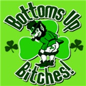 Bottoms Up Bitches T-shirts