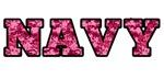 Pink Camo Navy