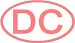 DC Oval - District of Columbia (Pink)