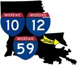 I10,12& 59 Intersects (Slidell Louisiana)