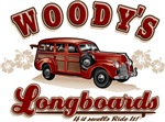 Woody's Long Boards | Retro Surfing T-shirts & Gifts
