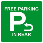 FREE PARKING IN REAR