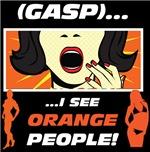I See Orange People (Black)