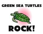 Green Sea Turtles Rock!
