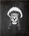 Skull Indian Headdress