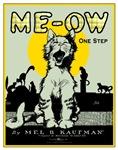 VINTAGE CAT ART: MEOW