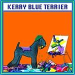 KERRY BLUE TERRIER PAINTER