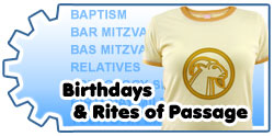 <B>BIRTHDAYS; RITES OF PASSAGE</B>