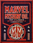 Marvel Mystery Oil vintage signs