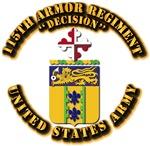 COA - 115th Armor Regiment
