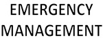 Emergency Management - Black