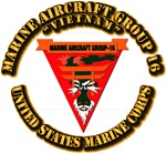 Marine Aircraft Group 16 With Text USMC
