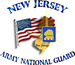NEW JERSEY ARNG With Flag