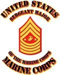 USMC - Sergeant Major of the Marine Corps with Tex