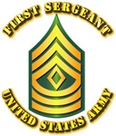 Army - First Sergeant E-8 w Text