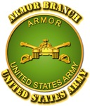 Army - Armor Branch Plaque