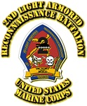 USMC - 2nd Light Armored Reconnaissance Battalion