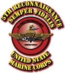 USMC - 5th Reconnaissance - Semper Fidelis