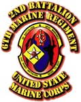 USMC - 2nd Battalion - 6th Marine Regiment