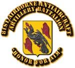 COA - 81st Airborne Antiaircraft Artillery Battali
