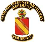 COA - 44th Air Defense Artillery Regiment