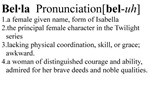 Bella Definition