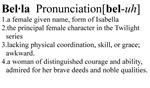 Bella Definition