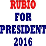RUBIO FOR PRESIDENT WATER BOTTLE