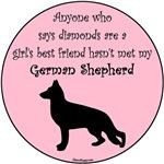 Girls Best Friend - German Shepherd