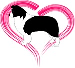 Heart Border Collies