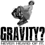 Gravity? Inline Skater T-shirts and Gifts