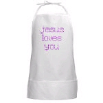 Christian Art BBQ Aprons