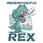 <b>NEW Personalizable Little  T-Rex Gear</b>