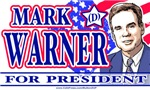 Mark Warner 2008 Shirt Button Sticker Shop