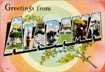 Alabama Vintage Postcard.