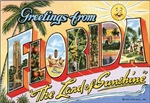 Floriida Vintage Postcard