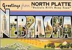 Nebraska Vintage Postcard