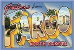Fargo ND Vintage postcard