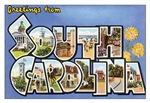 South Carolina Vintage Postcard