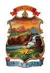 Montana Vintage Coat of Arms