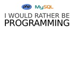 I'd rather be programming