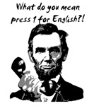 PRESS 1 FOR ENGLISH