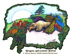 Dragon,  Fairy Centaur, Fantasy Art Gifts