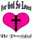 God Love Provided, Easter Valentine, Christ Gift
