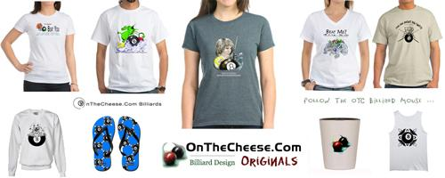 OTC Billiards Designs, Gifts For Pool Players