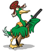 Hunting Duck with Gun